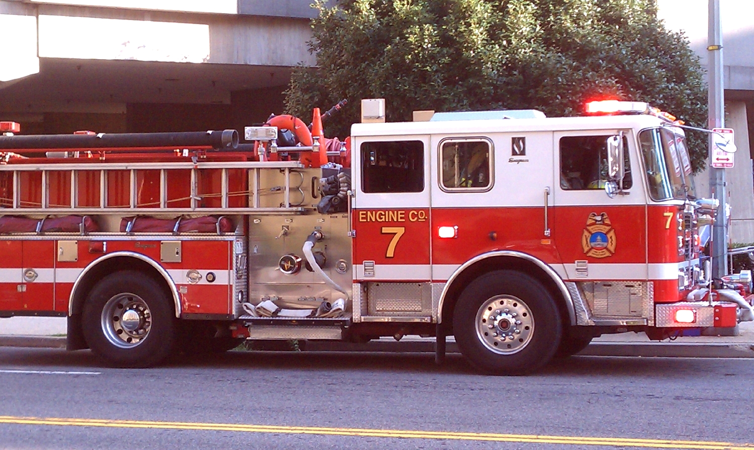 One Ton Truck >> Why are Firetrucks Red?