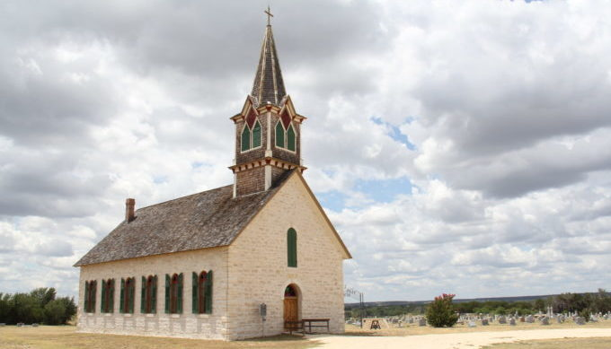 Our Savior's Lutheran Church, Norse, Texas, History, Hill Country