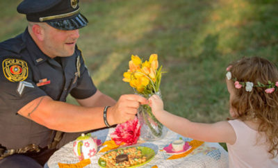 officer tea party