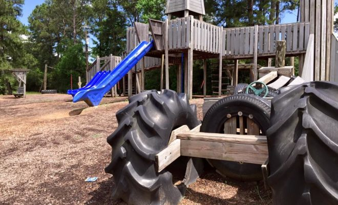 This Tire Park in Texas is Play Date Perfection for Your Kids