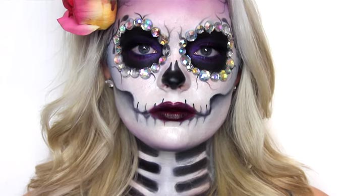 Paint Your Own 'Sugar Skull' for Dia de los Muertos