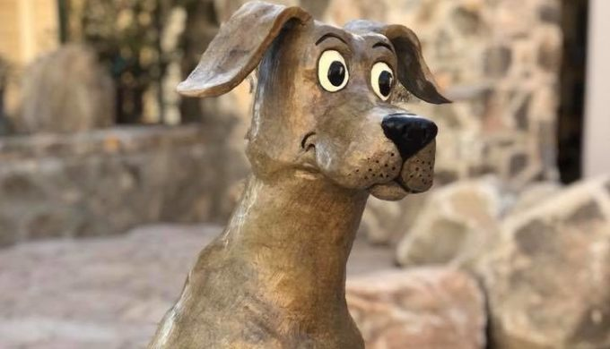 Why is There a Hank the Cowdog Statue in This Texas Town?