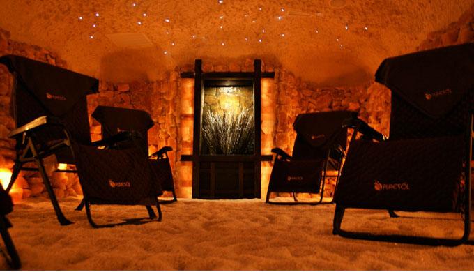 puresolspa salt cave