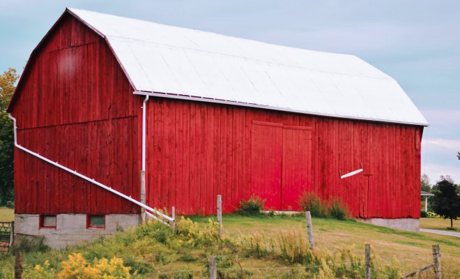 Did Red Barns Originate by Farmers Adding Fresh Blood to the Paint?