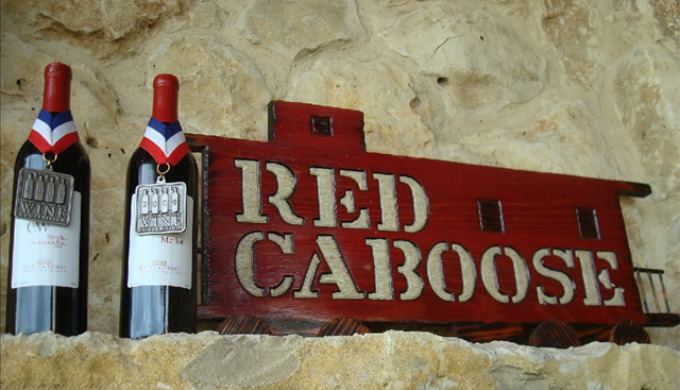 red caboose winery, wine, texas, hill country, meridian