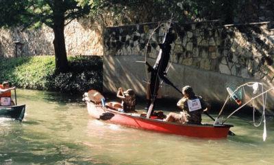 River Walk canoe
