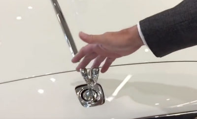 Watch What Happens When You Try to Steal a Rolls-Royce Hood Ornament