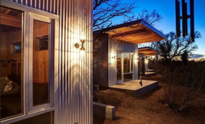 Bestie Row: These Texas BFFs Live Next Each Other in Tiny Houses