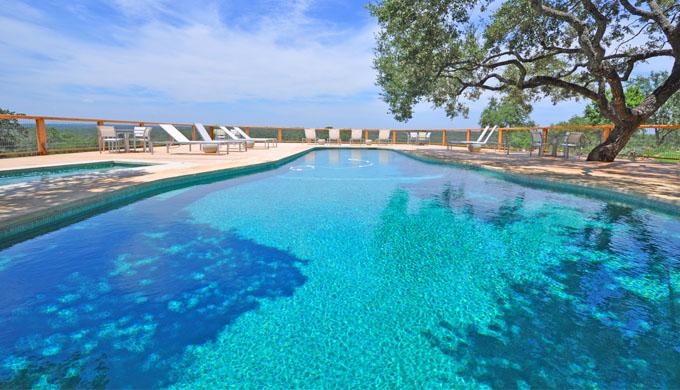 Sage Hill Spa pool