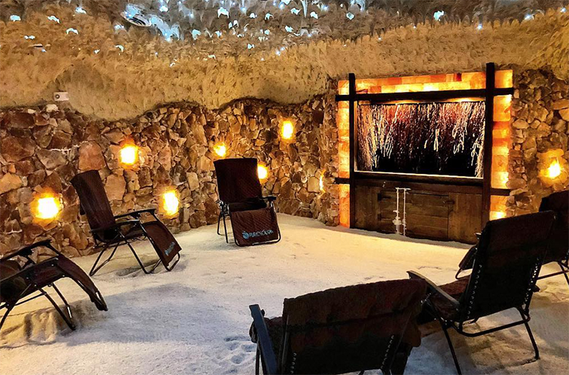 Man Made Salt Cave In San Antonio Claims To Offer Allergy