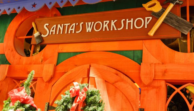 Garland Boy Asks Santa to Improve His Dad's Health: Santa Prays With Him