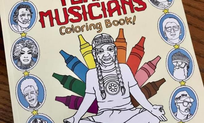 You've Got to See the New Coloring Book that Celebrates Texas Musicians