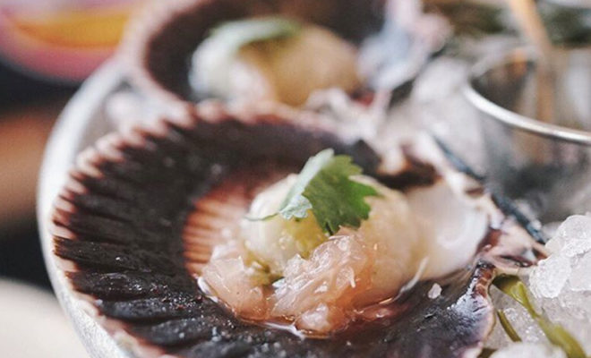 Hepatitis A Outbreak Linked to Tainted Scallops and Strawberries