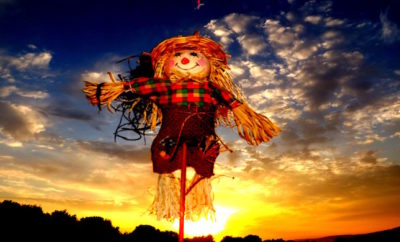 Scarecrows Gather to Invade the Texas Hill Country in October