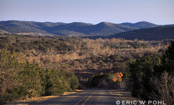 Scenic View from Ranch Road 674 - Edwards County, TX. Southwest of Rocksprings.