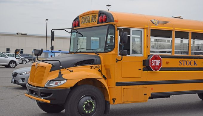 School Bus Driver Buys Hats & Gloves for Kids on His Route