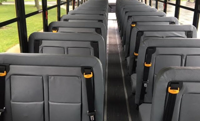 new texas law requires all school buses to have seat belts