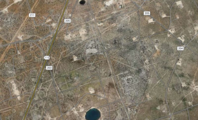 West Texas sinkholes