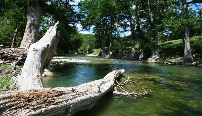 Sisterdale Sister Creek