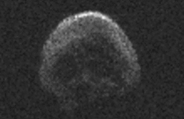 The Great Pumpkin: Is a Skull-Shaped Asteroid Headed for Earth?