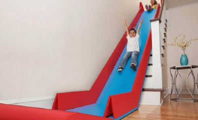 SlideRider Could Turn Your Stairs Into an Indoor Playground
