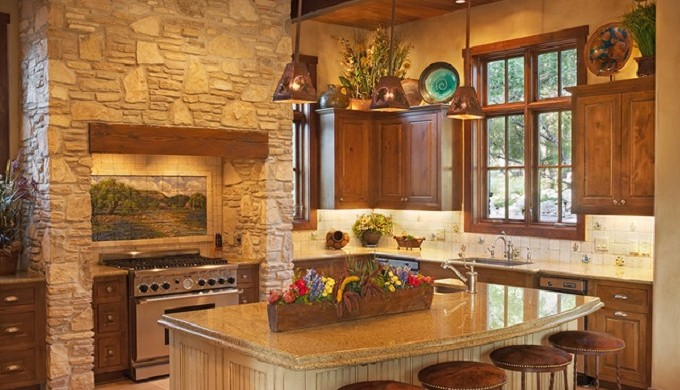 Western design decor in the texas hill country - Southwestern home design and remodeling ...