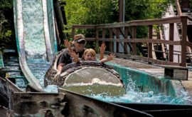 The World's First Log Flume Ride is Still Making a Splash in Texas