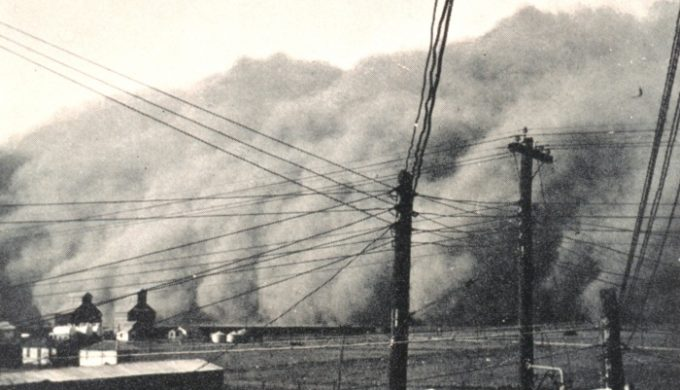 The Legendary Black Sunday Dust Storm that Hit Texas