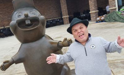 Buc-ee's Beaver Statue Created in Bastrop at Largest Art Foundry in Texas