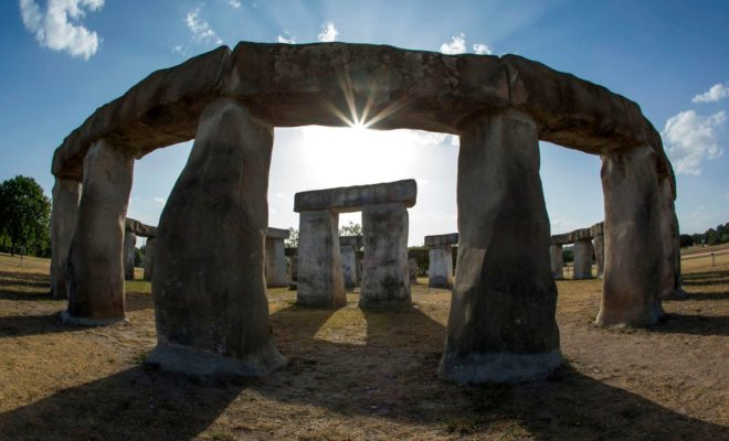 Eighth Wonder of the World: Stonehenge II in the Texas Hill