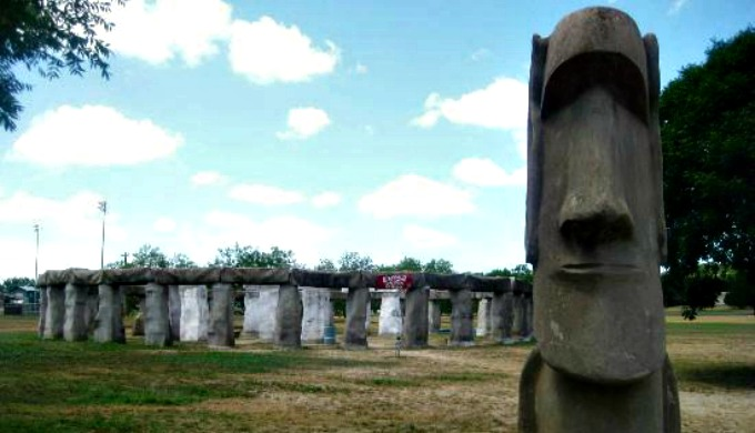 stonehenge II, Ingram, Texas, Hill Country