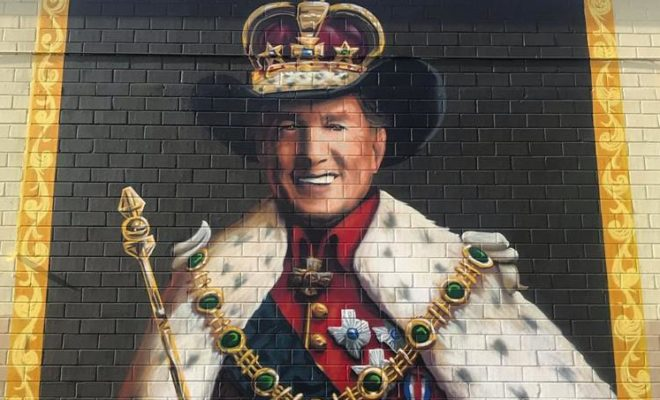 King George Approves of San Antonio Mural in Social Media Shout-Out
