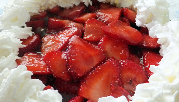 Quick Fix Strawberry Pie