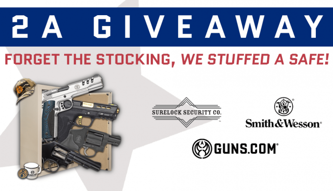 2A Holiday Giveaway: Snag a Safe Stuffed with Guns & Swag