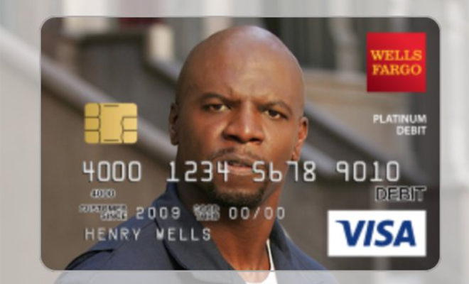 Woman Gets Custom Credit Card Design of Terry Crews After He Approves