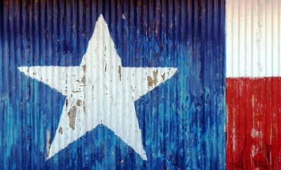 Metal Texas landmarks