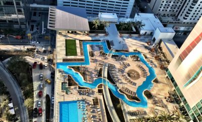 Texas-Shaped Lazy River in Houston Now Open to the Public