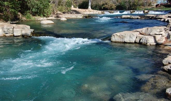 Texas Rivers QUIZ - River quiz