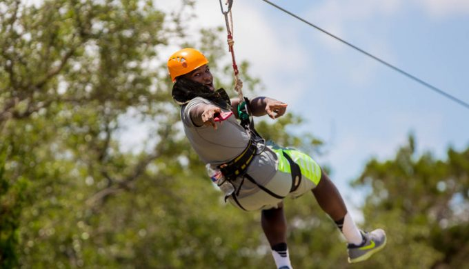 How to Zip Line the Texas Way at Lake Travis Zipline Adventures
