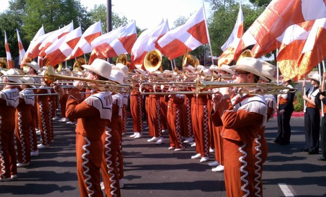 Group of UT Athletes Demand 'The Eyes of Texas' Song be Replaced