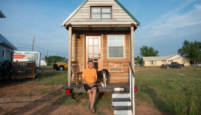 Texas Tiny Home Community Worried About Anarchy, Nudists