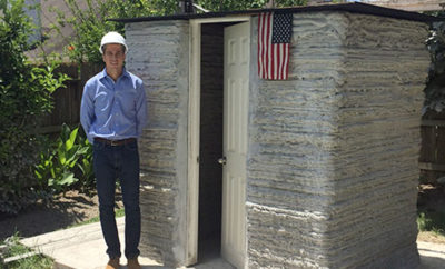 Baylor Grad Uses 3-D Printer to Build a Tiny Home