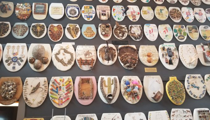 Barney Smith's Toilet Seat Art Museum Moves to a New Home