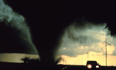 Tornado Strikes Junction, Texas: Path of Damage Down Main Street