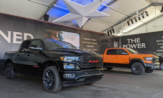 The 2021 Texas Auto Show Draws Crowds at the State Fair of Texas