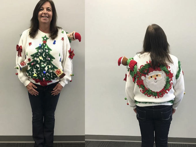 ugly sweater day 3