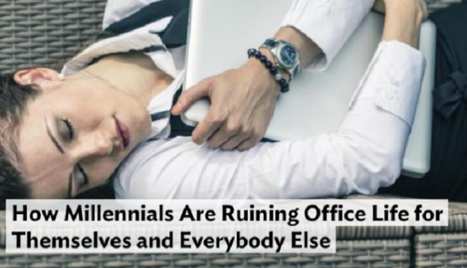 Will the Carnage Ever End?! Millennials 'Killing' Everything