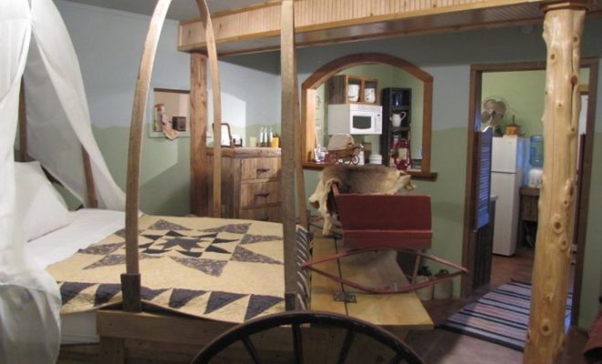 Steal Away for the Weekend and Travel Back in Time with Covered Wagon B&B