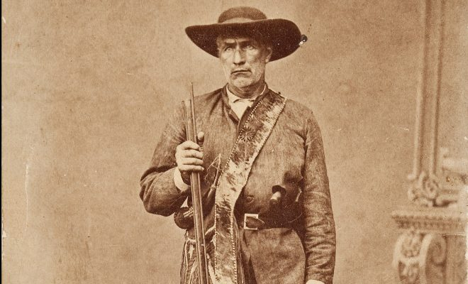 Big Foot was a Texas Ranger: The Legendary Big Foot Wallace