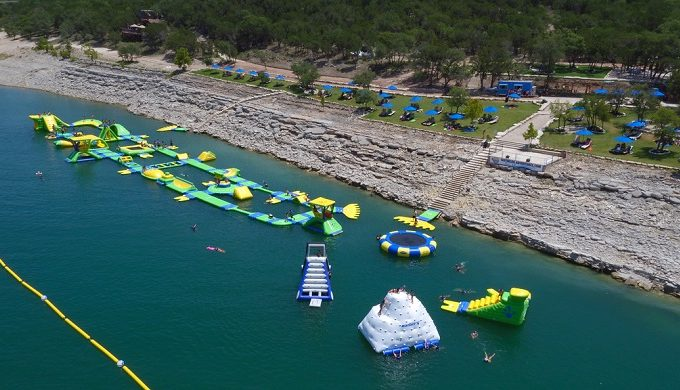 Waterloo Adventures, the Floating Water Park, Makes a Texas-size Splash